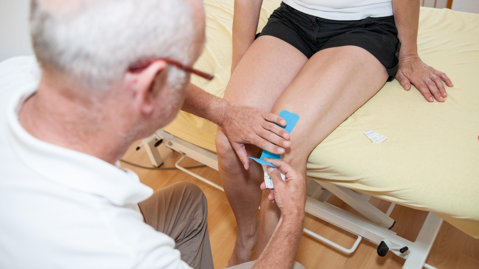Kinesiotape – Sportphysiotherapie